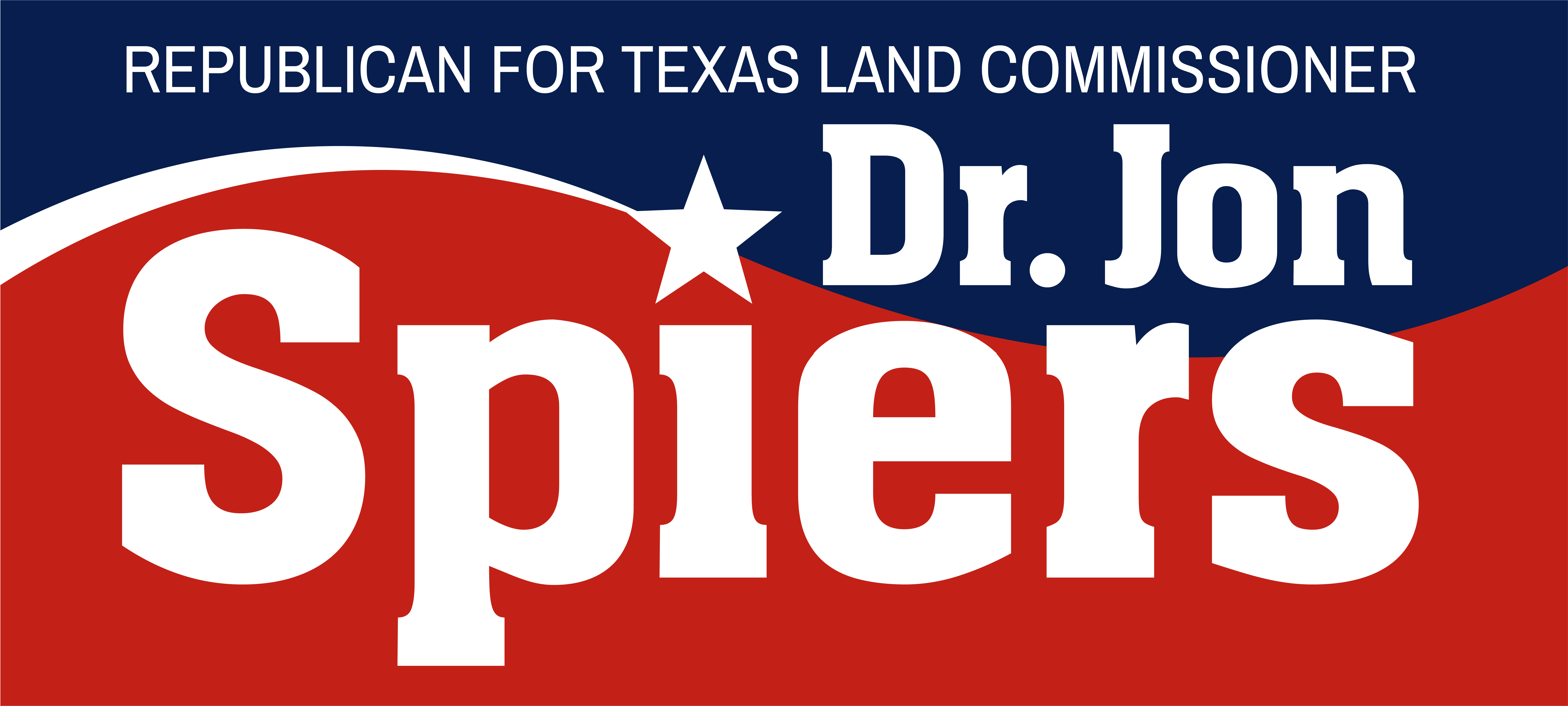 Dr. Jon Spiers, Republican for Texas Land Commissioner
